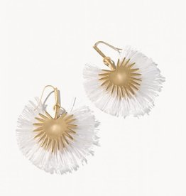Spartina Palmetto Frond Fan Earrings