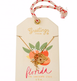 Spartina Florida Charm Necklace