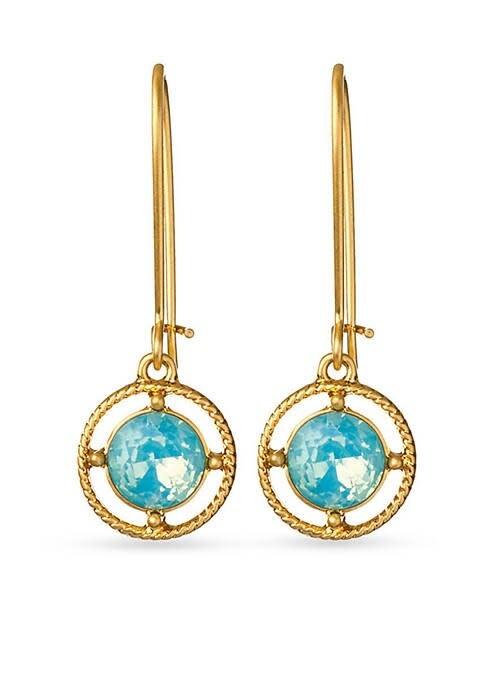 Spartina Bazaar Blue Drop Earrings