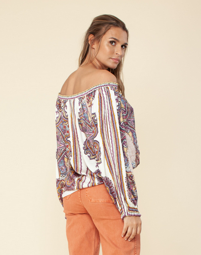Hale Bob Off Shoulder Top