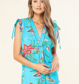Hale Bob Tie Shoulder Top