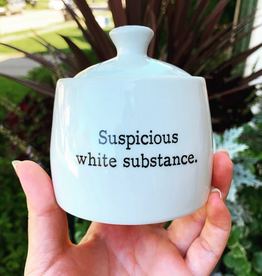 Buffalovely Suspicious White Substance Sugar Bowl