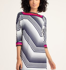 Trina Turk Bottle Dress Indigo Pearl