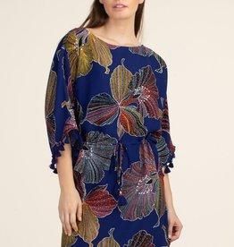 Trina Turk Spring Dress w/ Tassels