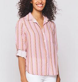 Velvet Heart Elisa Heart Stripe Shirt