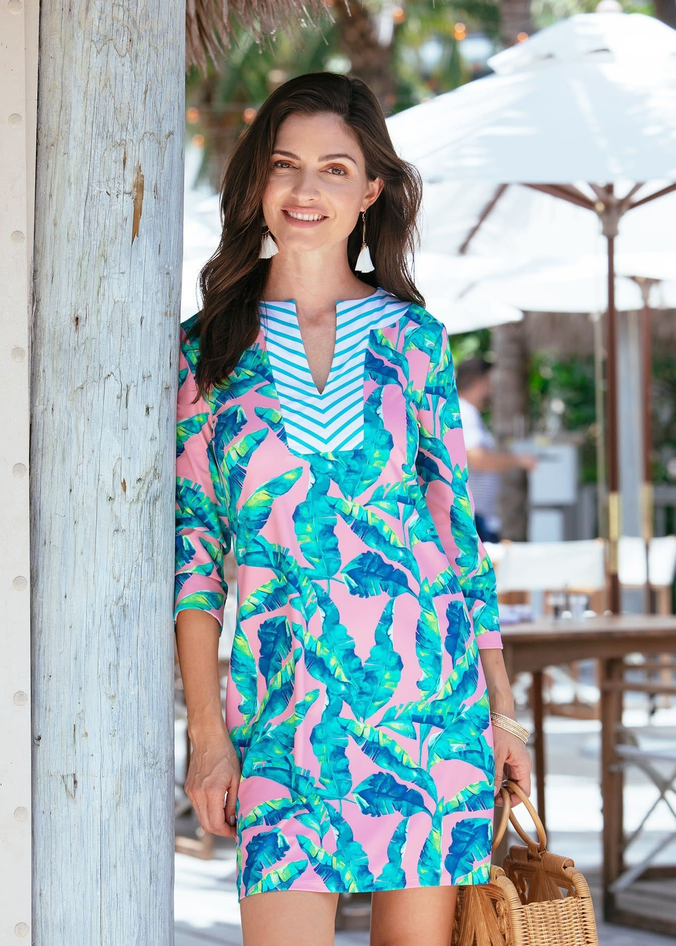 Cabana Life Dress Preppy Palm