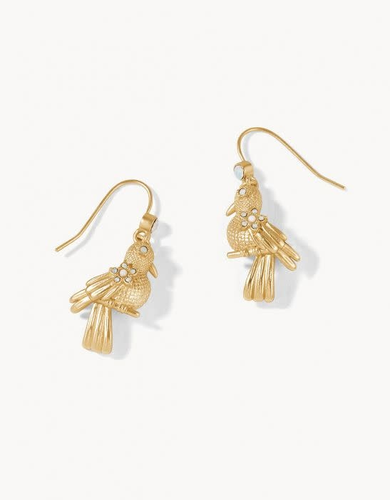 Spartina Songbird Drop Earrings Gold
