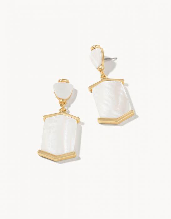 Spartina Monroe Earrings White