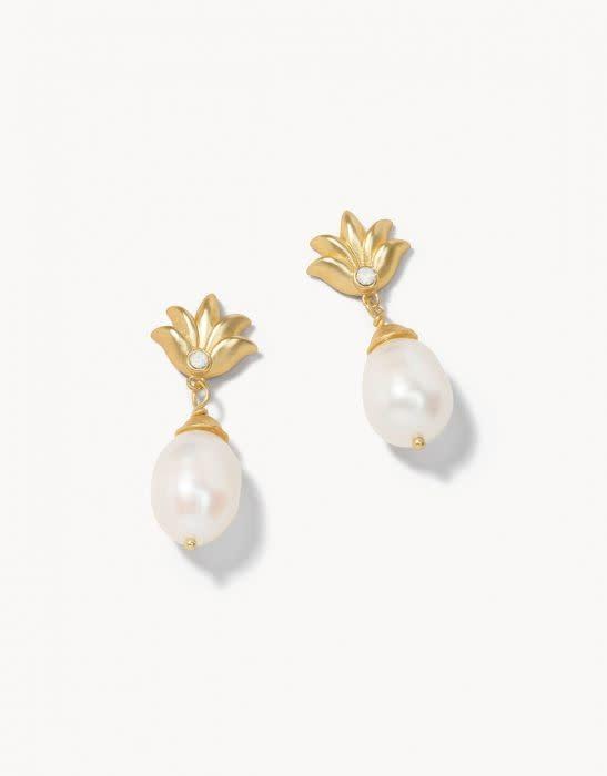 Spartina Sweet Pineapple Earrings
