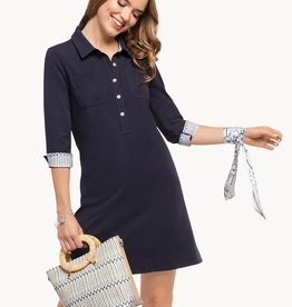 Spartina Camilla Dress Navy