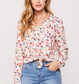 Velvet Heart Eleni Abstract Shirt