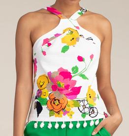 Trina Turk Jamaica Top Bold Floral