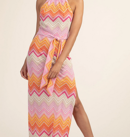 Trina Turk Speakeasy Maxi Dress Zig Zag