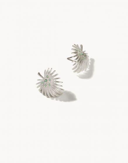Spartina Palmetto Frond Earring Silver