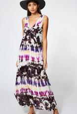 Young Fabulous & Broke Raquel Maxi Dress Orchid Dominica Wash