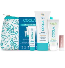 Coola 4 Piece Organic Mineral Suncare Travel Set