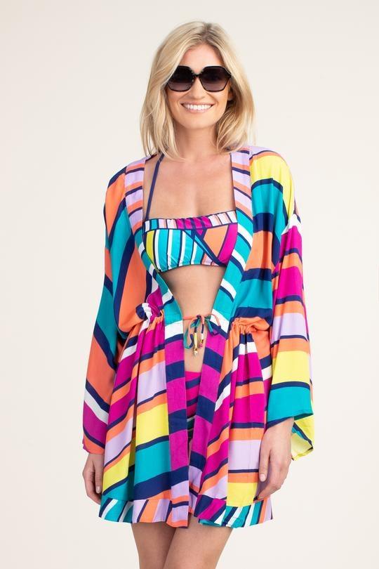 Trina Turk Swim Catch a Wave Kimono