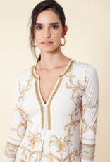 Hale Bob Angela Jersey Dress Dress Ivory