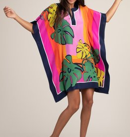 Trina Turk Theodora Dress Multi Palm