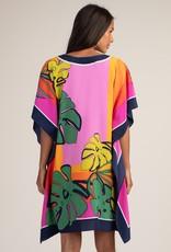 Trina Turk Theodora Dress Multi Palm