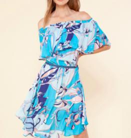 Hale Bob Gabriela Flounce Dress