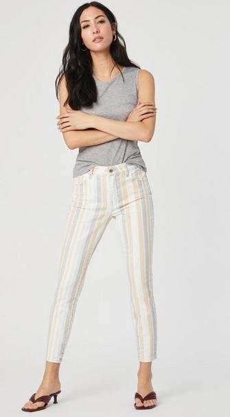Mavi Tess Spring Stripe Pant