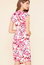 Hale Bob Emmanuelle Shirred Dress