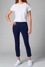 Jag Amelia Mid Rise Slim Ankle Jean Ink