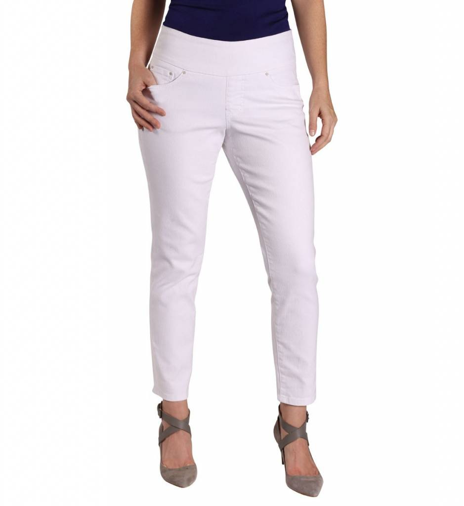 Jag Amelia Ankle Denim White