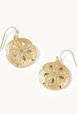 Spartina Sand Dollar Earrings