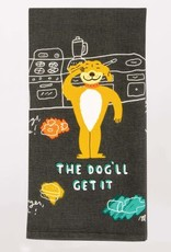 Blue Q The Dog'll Get It Dish Towel