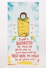Blue Q I Want a Burrito Dish Towel