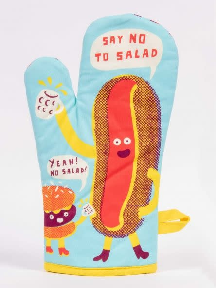 Blue Q Say No To Salad Oven Mitt