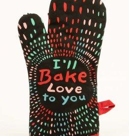 Blue Q I'll Bake Love To You Oven Mitt