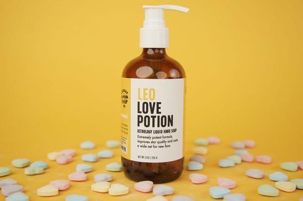 Whiskey River Leo Love Potion Liquid Hand Soap