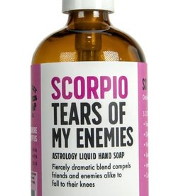 Whiskey River Scorpio Tears of My Enemies Liquid Hand Soap