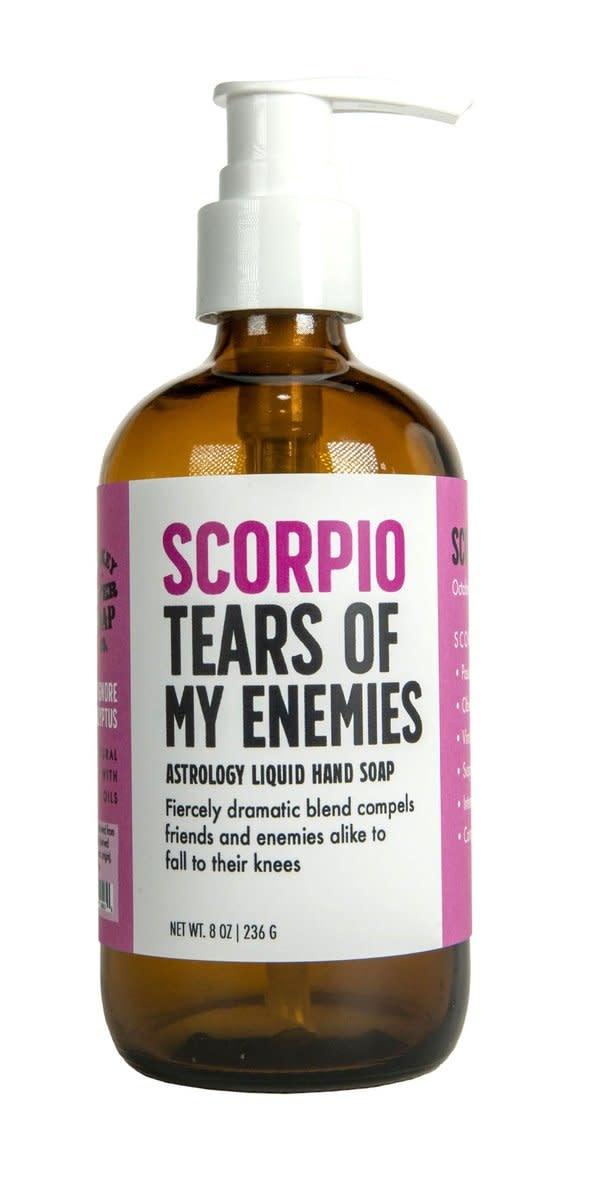Whiskey River Scorpio Tears of My Enemies Liquid Hand Soap
