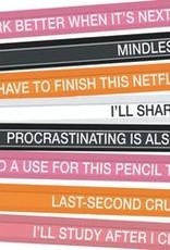 Whiskey River Pencils for Procrastinators
