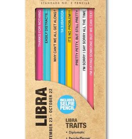 Whiskey River Astrology Pencils Libra