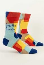 Blue Q Cool-Ass Grandpa Mens Socks