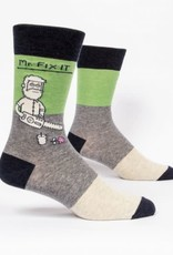 Blue Q Mr. Fix It Mens Socks