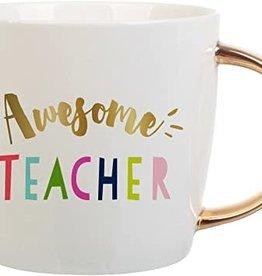 Slant Awesome Teacher Mug