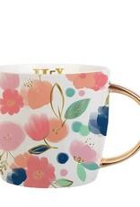 Slant Hey Mama Floral Mug