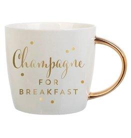 Slant Champagne For Breakfast Mug