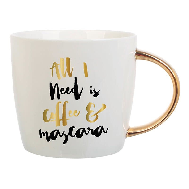 Slant Coffee & Mascara Mug