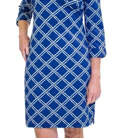 Katherine Way Coco Dress Bamboo Navy