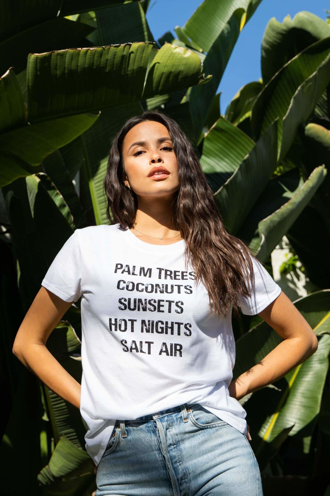 Sub Urban Riot Palm Trees Coconuts Tee