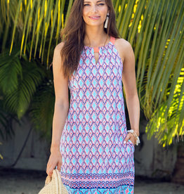 Cabana Life Sleeveless Shift Dress St. Barts