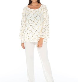 Skemo Sequin Top White