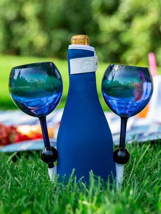 Beach Glass Wine Bottle Cozies